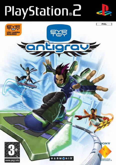 EyeToy: AntiGrav PAL for Sony Playstation 2/PS2 from Sony (SCES 53055)