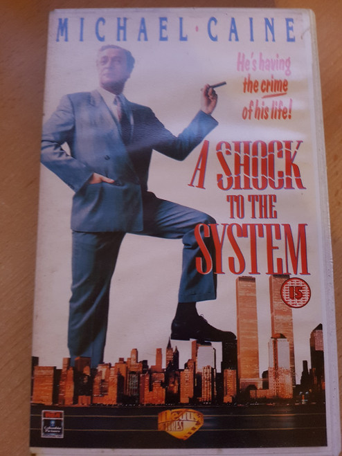 A Shock To The System VHS from Medusa Pictures (MO318)