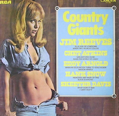 Country Giants from RCA Camden (CDS 1098)