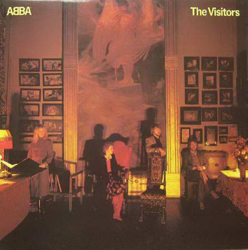 The Visitors by ABBA from Epic (EPC 10032)