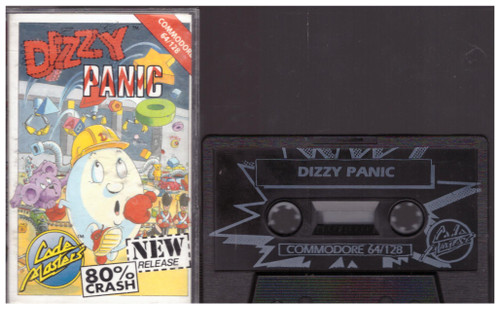 Dizzy Panic for Commodore 64 from CodeMasters (1492)