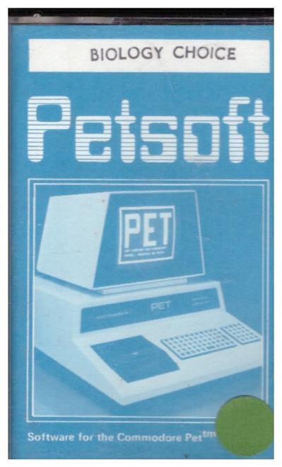 Biology Choice for Commodore PET from Petsoft