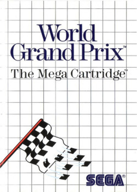 World Grand Prix for Sega Master System by Sega on Cartridge