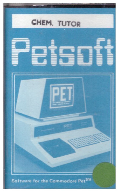 Chem. Tutor for Commodore PET from Petsoft