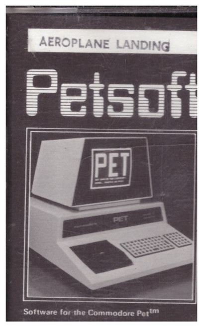 Aeroplane Landing for Commodore PET from Petsoft