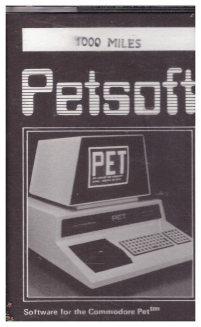 1000 Miles for Commodore PET from Petsoft
