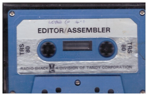Editor/Assembler for Tandy TRS-80 from Tandy Corporation