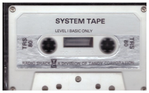 System Tape Level I Basic Only for Tandy TRS-80 from Tandy Corporation