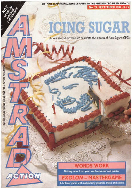 Amstrad Action Issue 24/September 1987 Magazine