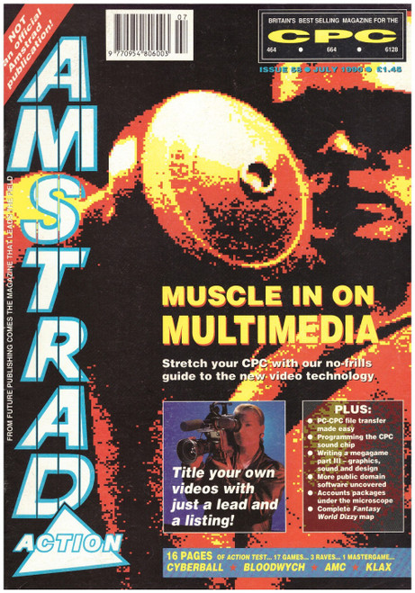 Amstrad Action Issue 58/July 1990 Magazine