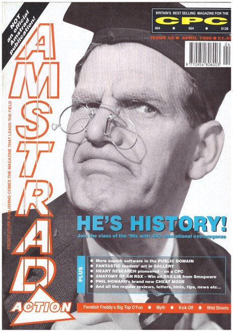 Amstrad Action Issue 55/April 1990 Magazine