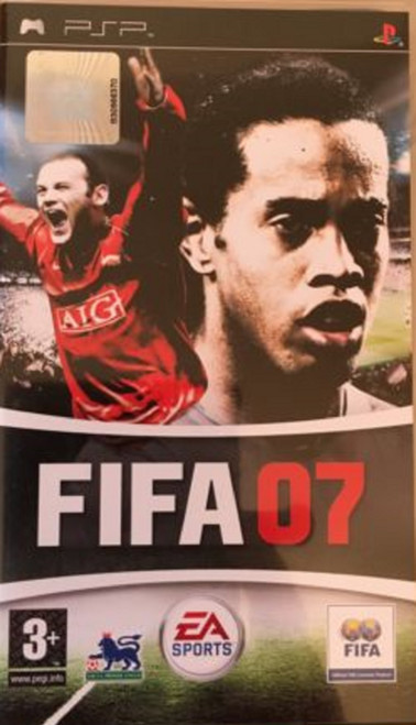 FIFA 07 for Sony Playstation Portable/PSP from EA Sports (ULES 00440)-1