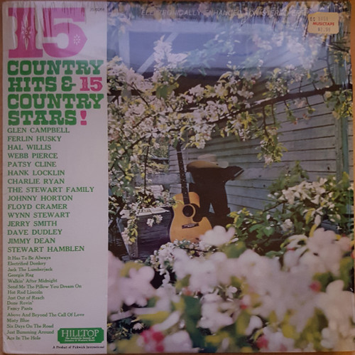 15 Country Hits & 15 Country Stars! from Hilltop (JS-6064)