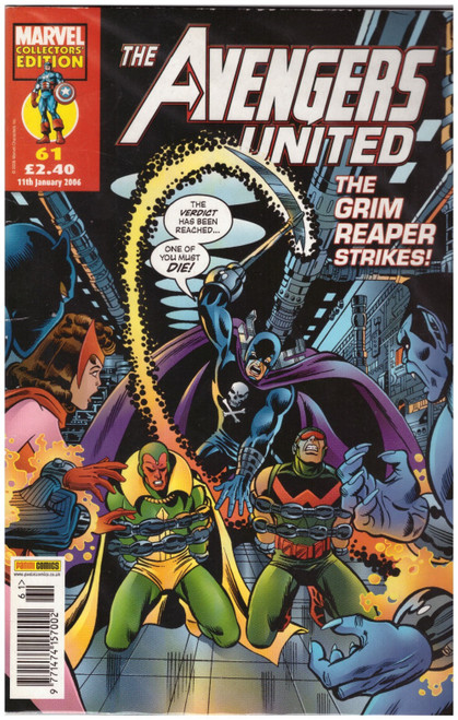 The Avengers United #61 from Marvel/Panini Comics UK
