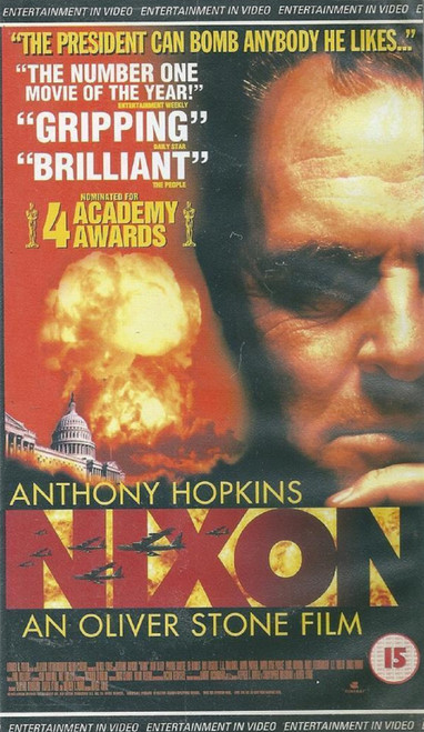 Nixon VHS from Entertainment In Video (EVS 1207)