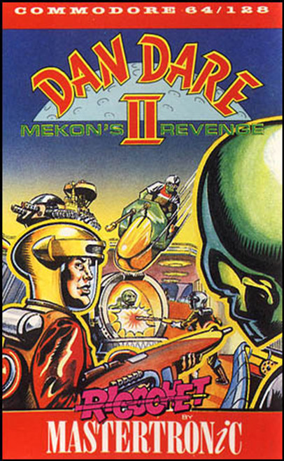 Dan Dare II: Mekon's Revenge for Commodore 64 by Ricochet/Mastertronic on Tape