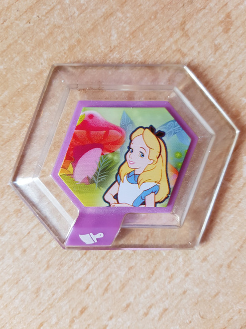Alice In Wonderland Tulgey Wood Power Disc for Disney Infinity