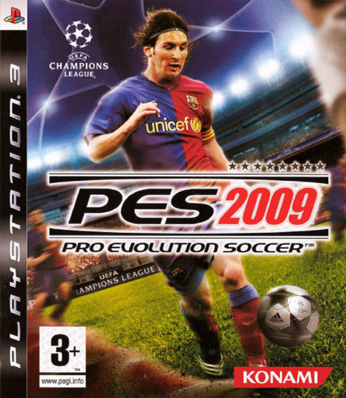 Pro Evolution Soccer 2009 (PES 2009) PAL for Sony Playstation 3/PS3 from Konami (BLES 00338)