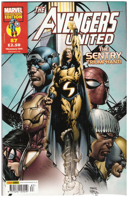 The Avengers United #87 from Marvel/Panini Comics UK