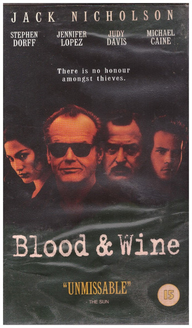 Blood & Wine VHS from 20th Century Fox Home Entertainment (4171S)