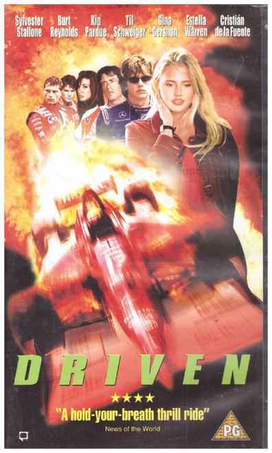 Driven VHS from Warner Home Video (S021013)