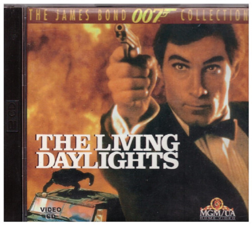 The Living Daylights Video CD/VCD from MGM/UA Home Video (VE 055)