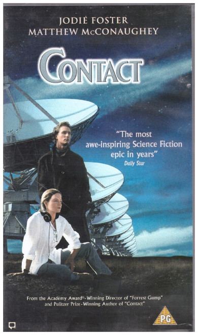 Contact VHS from Warner Home Video (S015041)