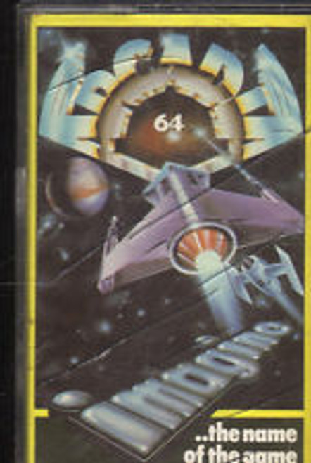 Arcadia for Commodore 64 by Imagine on Tape