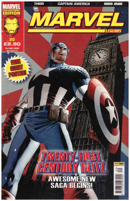 Marvel Legends #20 from Marvel/Panini Comics UK