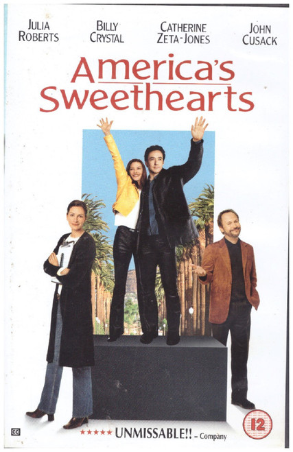 America's Sweethearts VHS from Columbia Tristar Home Entertainment (CVS 32404B)
