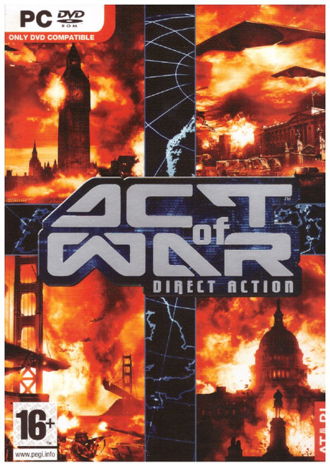 Act Of War: Direct Action for PC from Atari