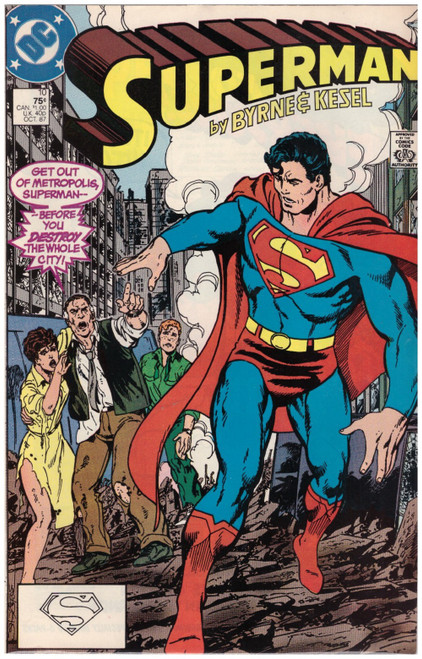Superman #10 Oct 87 from DC Comics