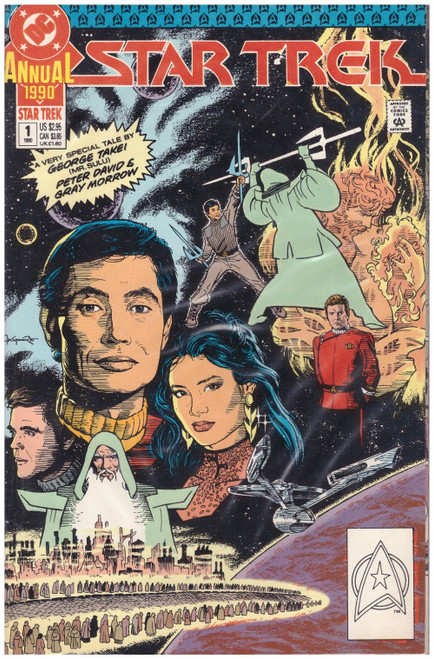 Star Trek Annual #1 1990 from DC Comics