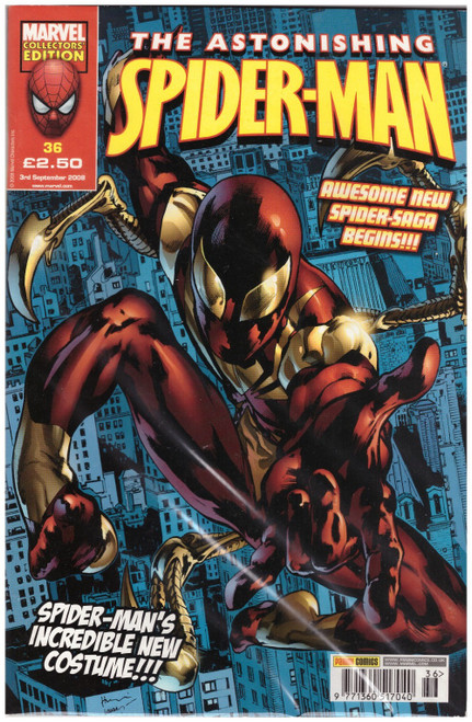 The Astonishing Spider-Man #36 from Marvel/Panini Comics UK