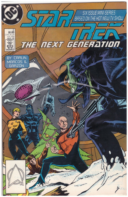Star Trek: The Next Generation #2 Mar 88 from DC Comics