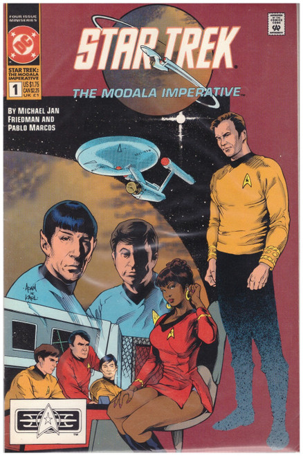 Star Trek: The Modala Imperative #1 1991 from DC Comics