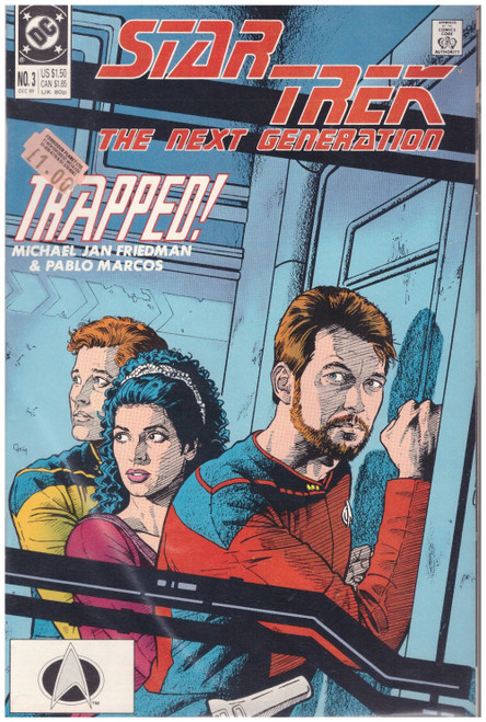 Star Trek: The Next Generation #3 Dec 89 from DC Comics