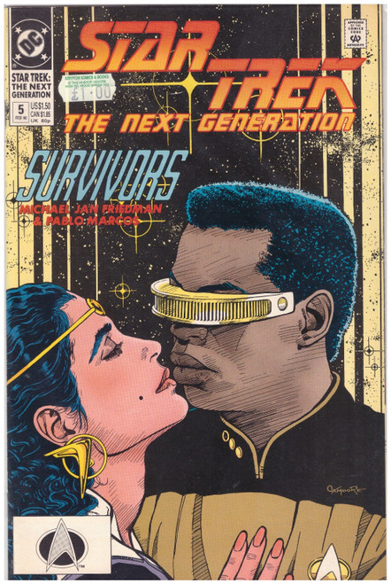 Star Trek: The Next Generation #5 Feb 90 from DC Comics