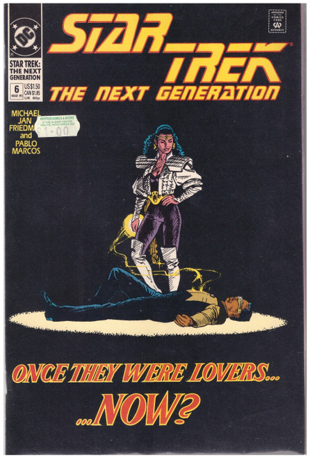 Star Trek: The Next Generation #6 Mar 90 from DC Comics