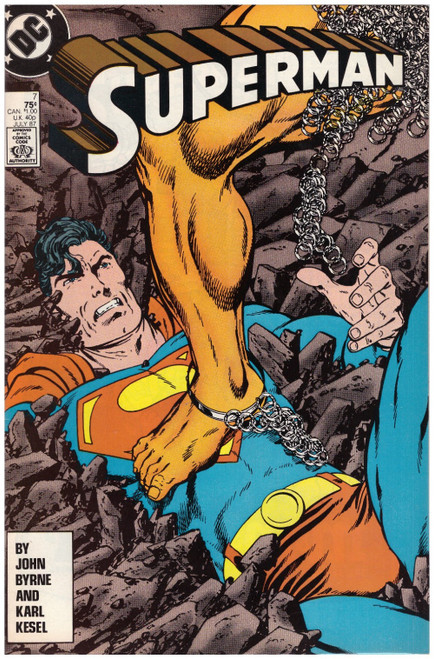 Superman #7 July 87 from DC Comics