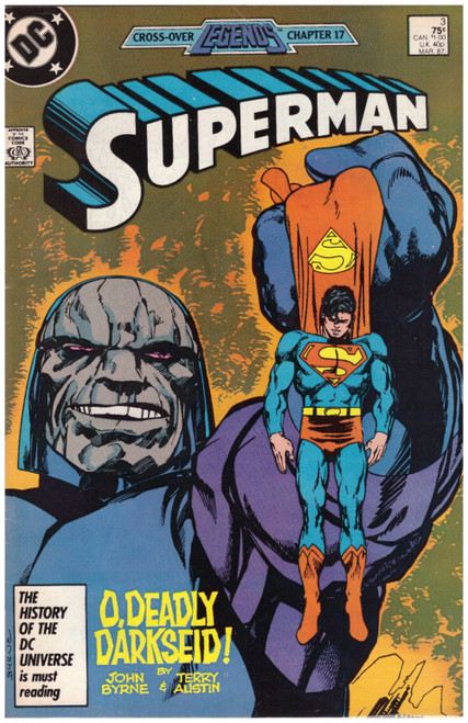 Superman #3 Mar 87 from DC Comics