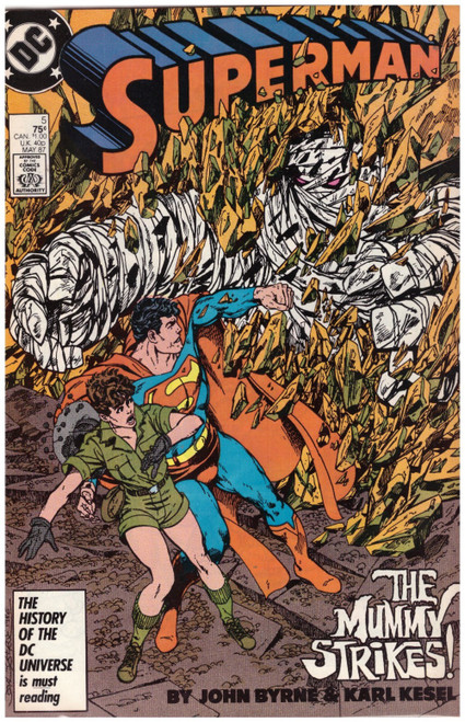 Superman #5 May 87 from DC Comics
