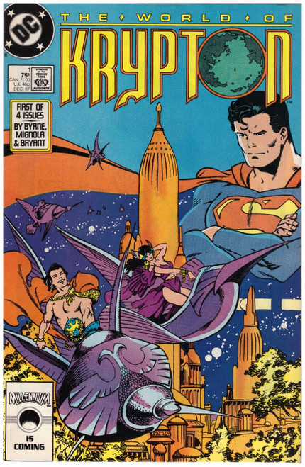 The World Of Krypton #1 Dec 87 from DC Comics