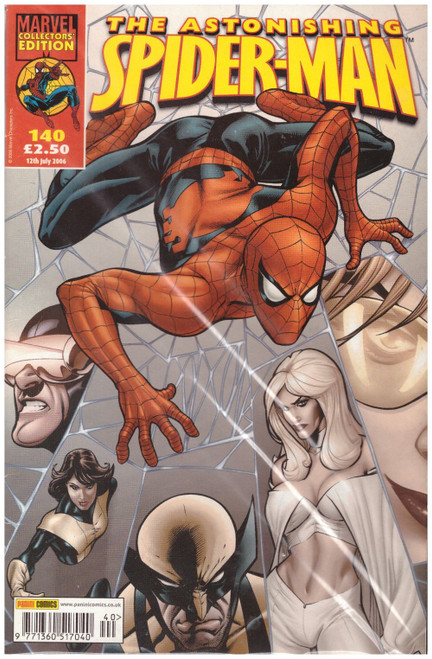 The Astonishing Spider-Man #140 from Marvel/Panini Comics UK