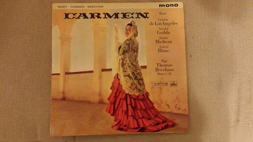 Carmen from His Master's Voice (ALP 1762-4)