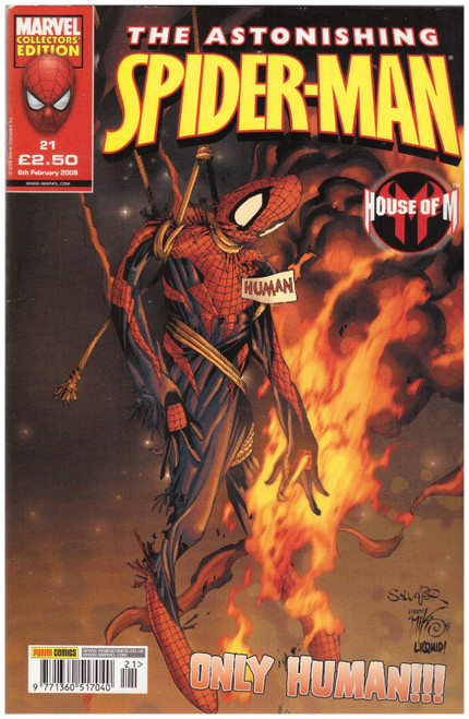 The Astonishing Spider-Man #21 from Marvel/Panini Comics UK