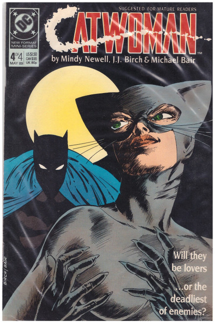 Catwoman #4 May 89 from DC Comics