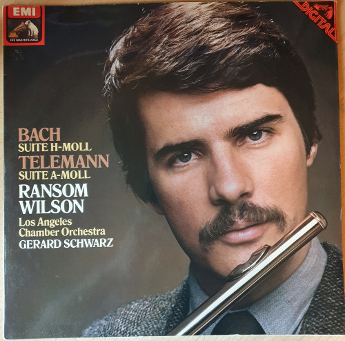 Bach: Suite H-Moll/Telemann: Suite A-Moll from His Master's Voice (ASD 3948)