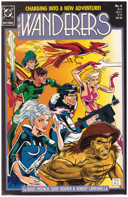 The Wanderers #6 Nov 88 from DC Comics