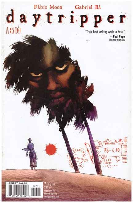 Daytripper #7 Aug 10 from Vertigo Comics